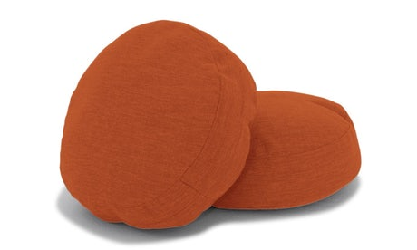 Decorative Round Pillows 16 x 16 (Set of 2)