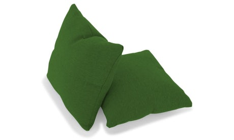 Decorative Knife Edge Pillows 18 x 18 (Set of 2)