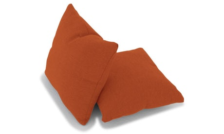 Decorative Knife Edge Pillows 18 x 18 (Set of 2)
