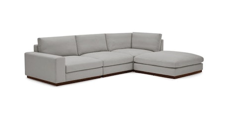Holt Modular Sectional with Bumper