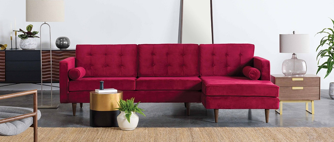 Modern Furniture Sofa custom mid century modern furniture | joybird