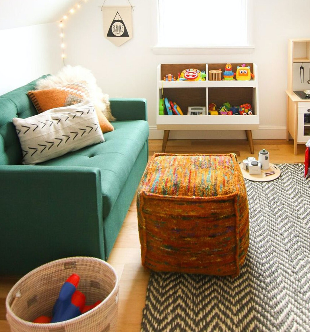 Before & After - The Perfect Playroom