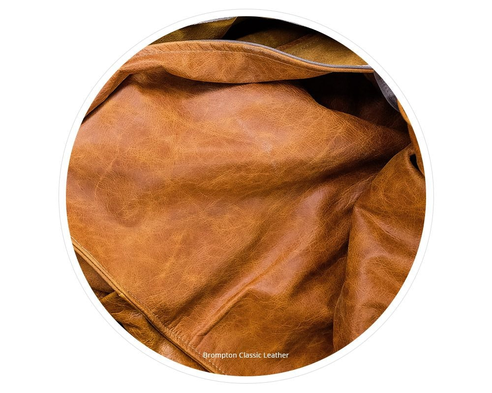 Full Aniline Dyed Leather