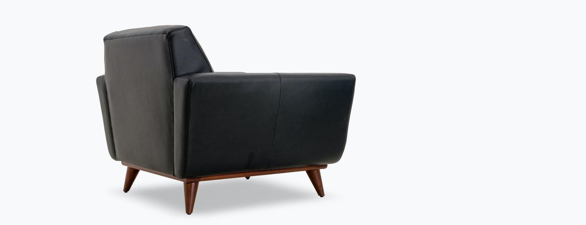 shown in Brighton Black Leather