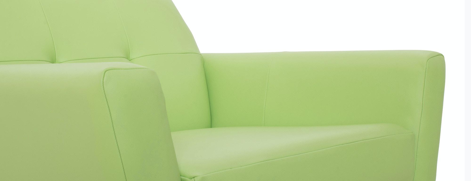 shown in Brighton Breeze Leather