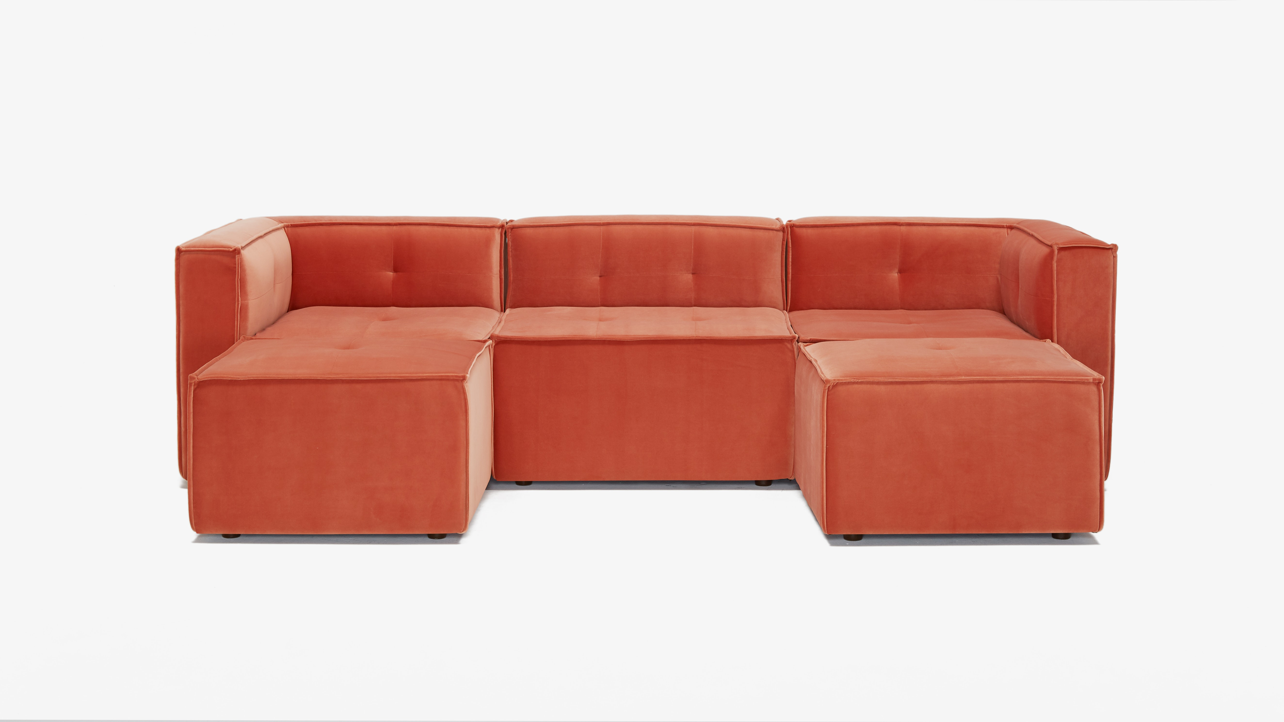 Matias Modular Chaise Sectional Sorrento Coralh