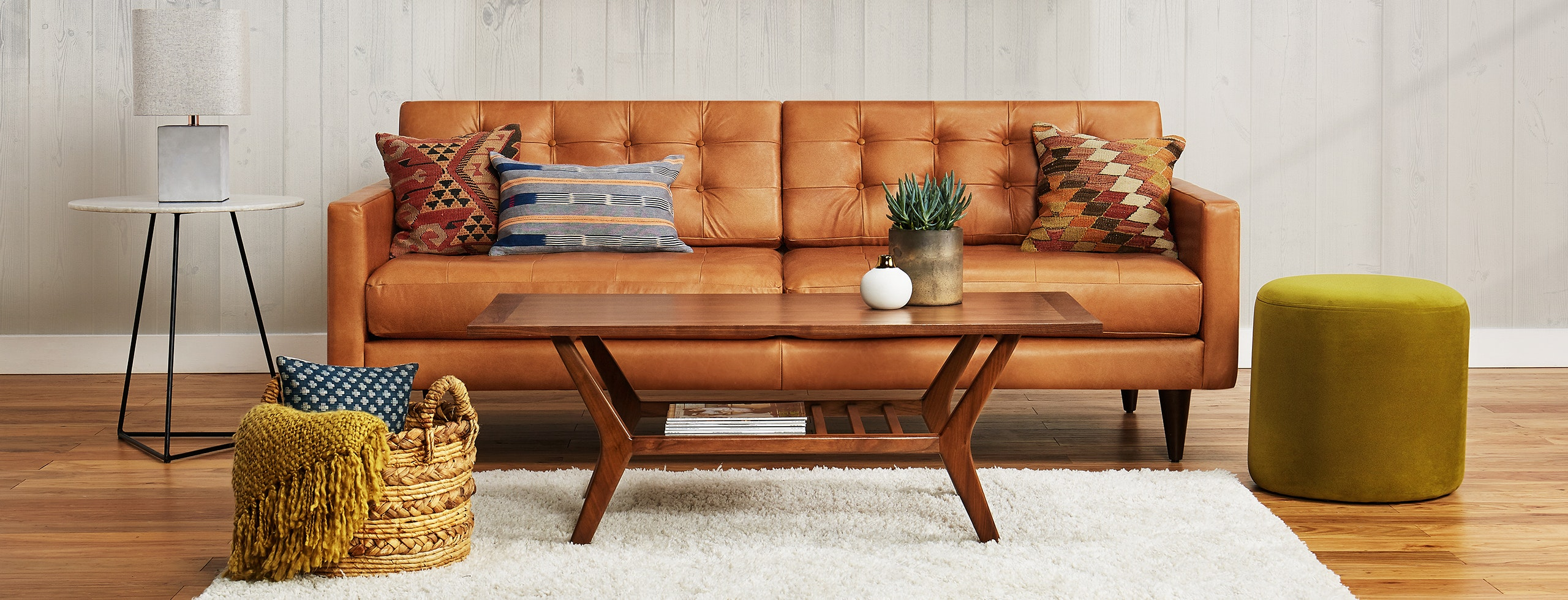 Eliot Leather Sofa | Joybird