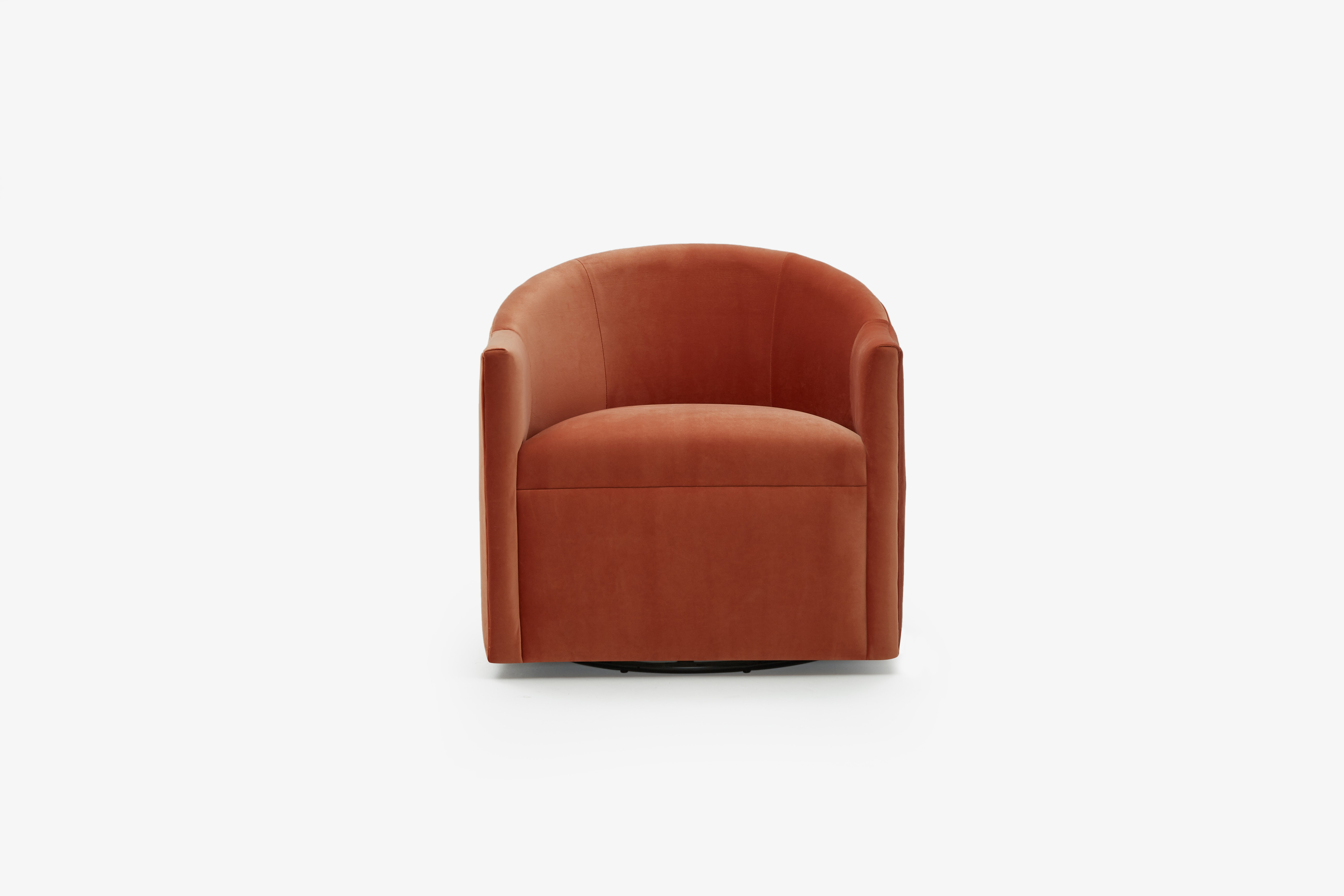 Jolie Swivel Chair Sorrento Coral