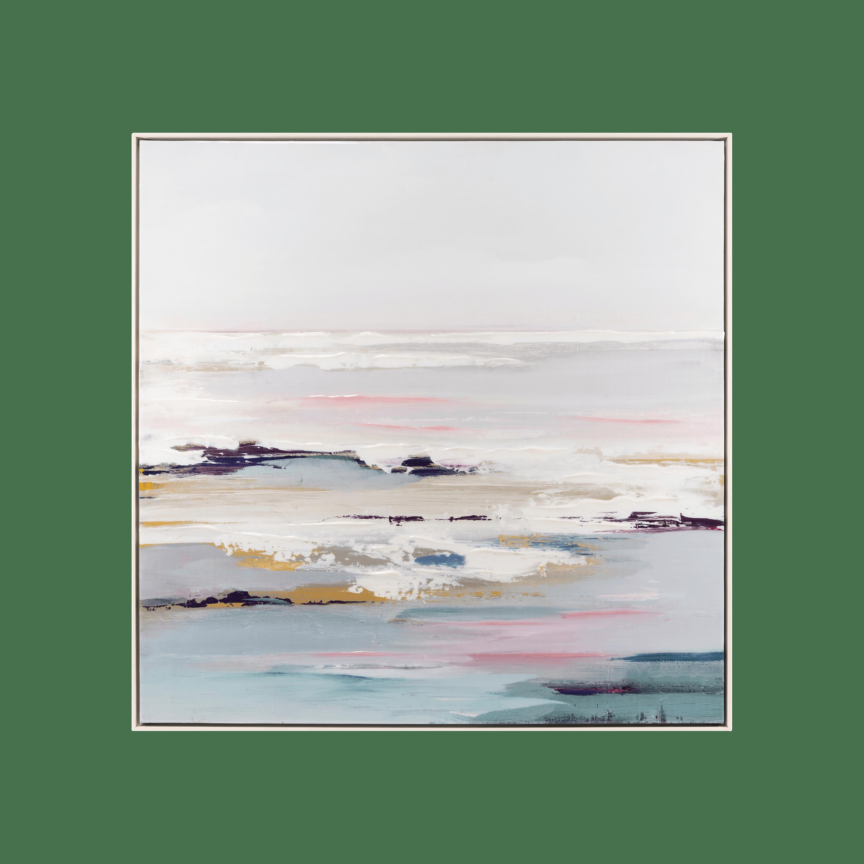 lilac tides wall art