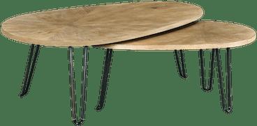 ntrlcrsd alix bunching coffee table