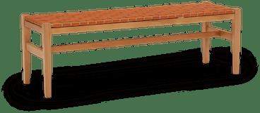 natural lana bench
