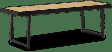 black oslo bench