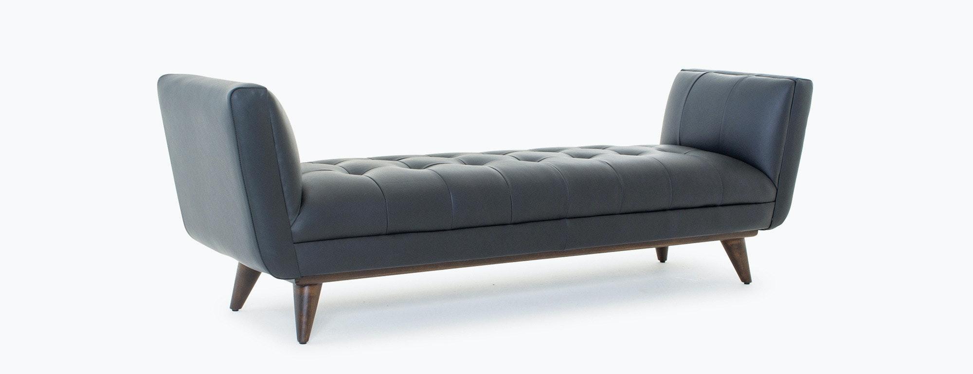 Hughes Leather Bench Joybird