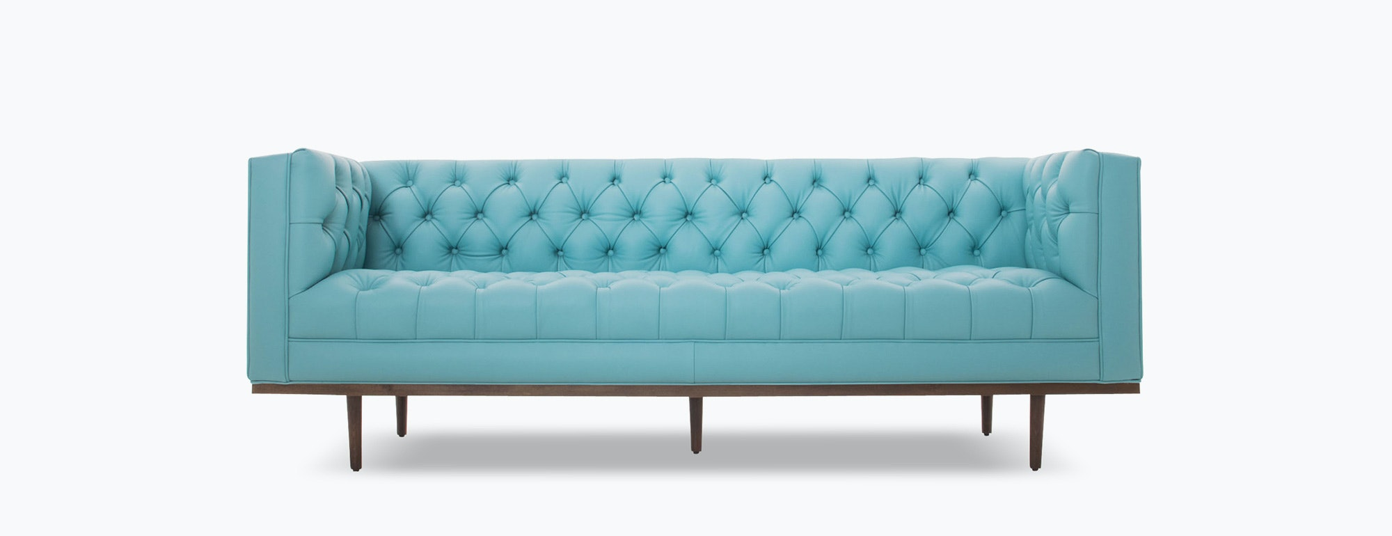 Welles Leather Sofa Joybird