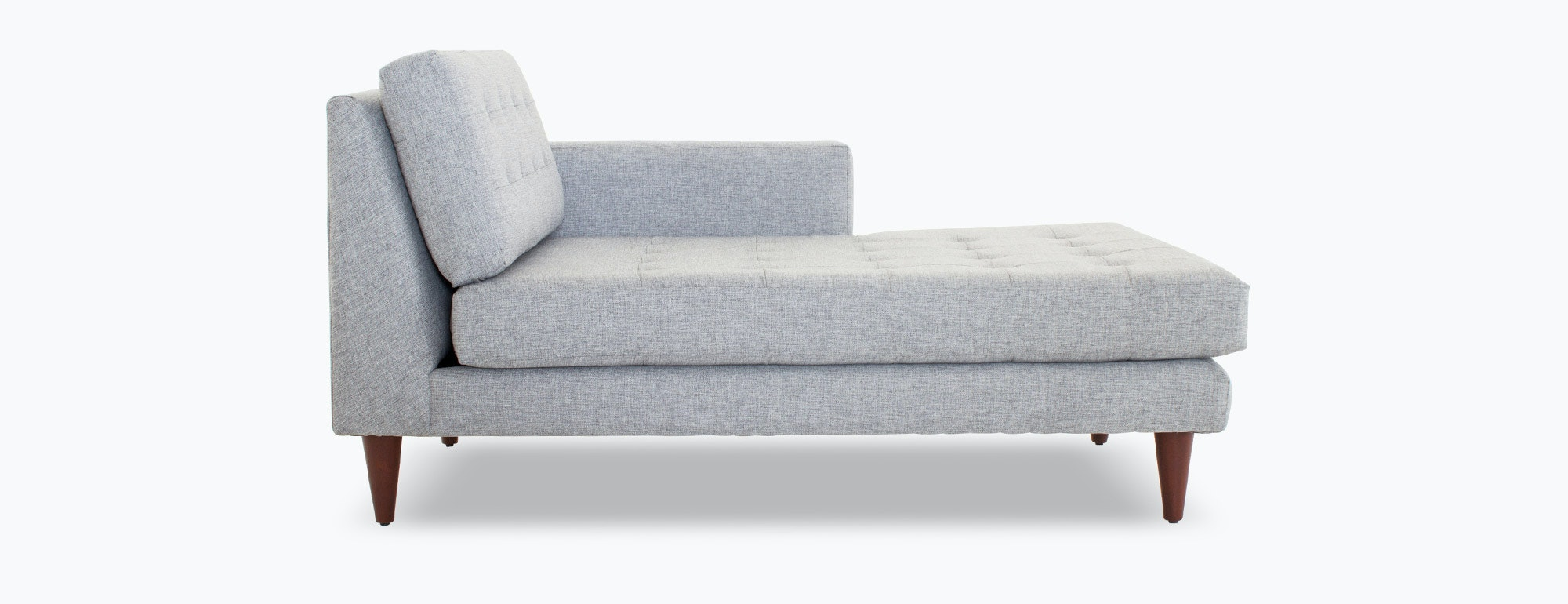 Single arm sofa george 94 one arm sofa with chaise for One arm sofa chaise