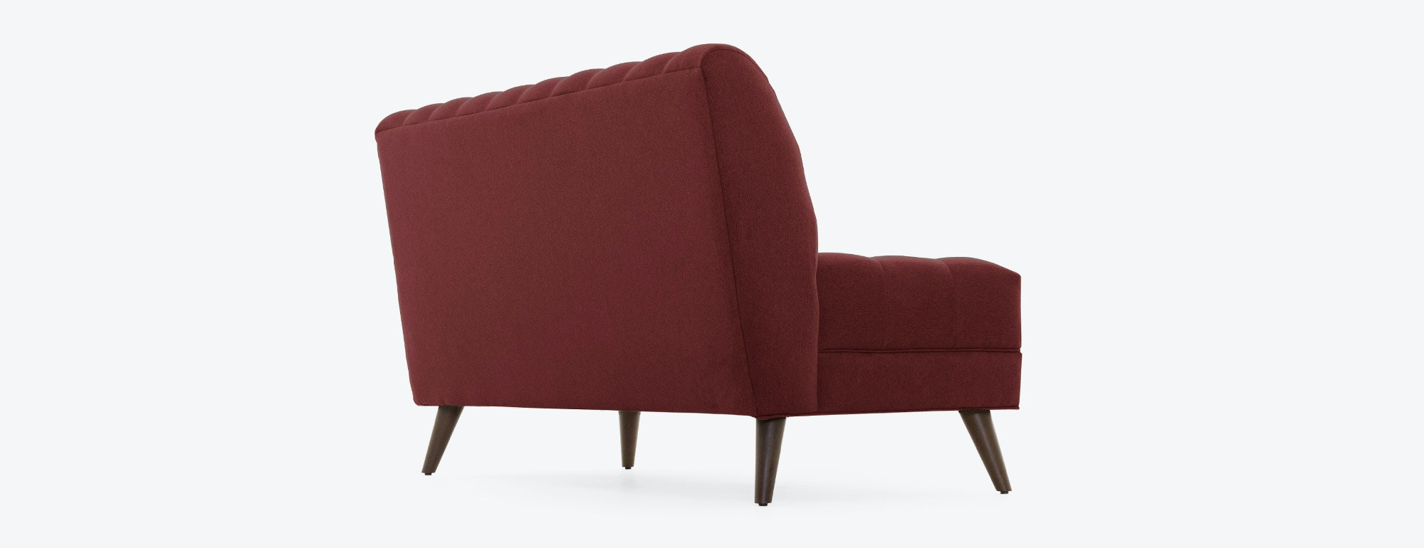shown in Bella Merlot Fabric