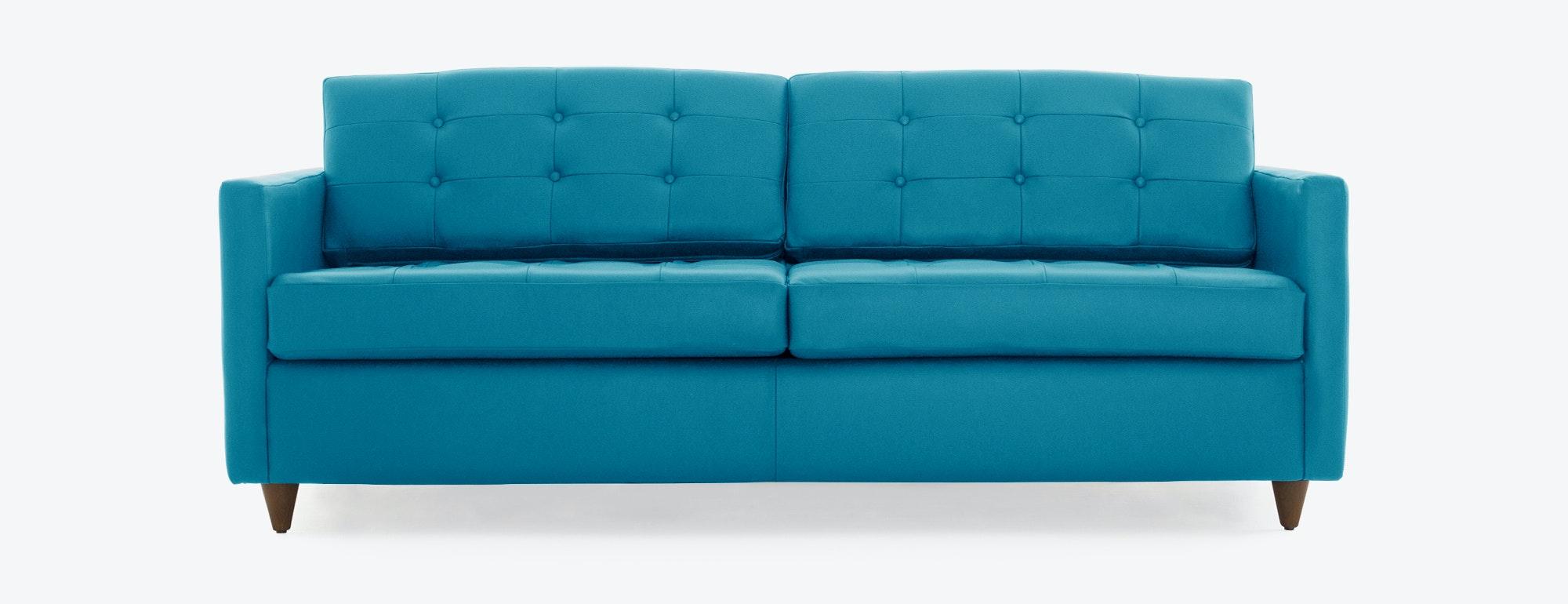Eliot Leather Sleeper Sofa Joybird