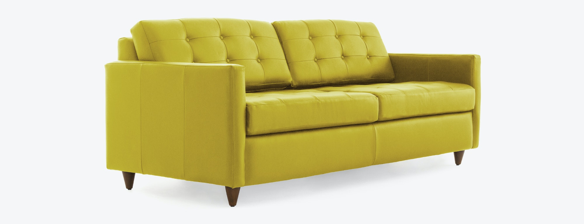 Eliot Leather Sleeper Sofa Joybird : hero eliot leather sleeper2 from joybird.com size 2000 x 770 jpeg 546kB