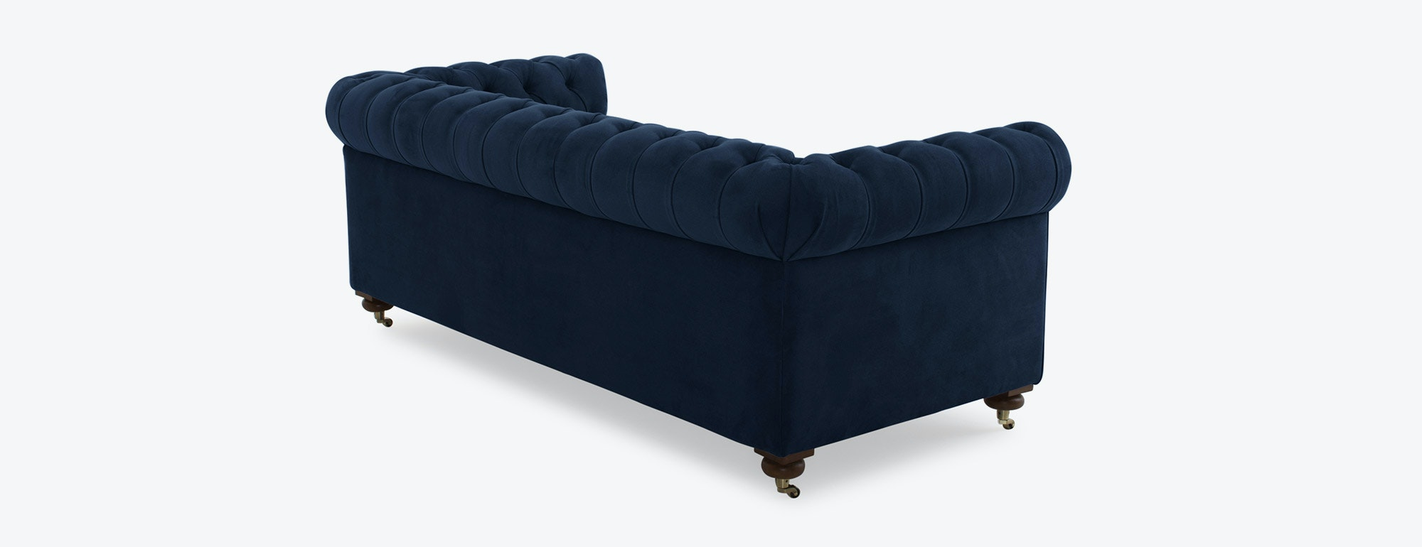 shown in Como Velvet Indigo Fabric