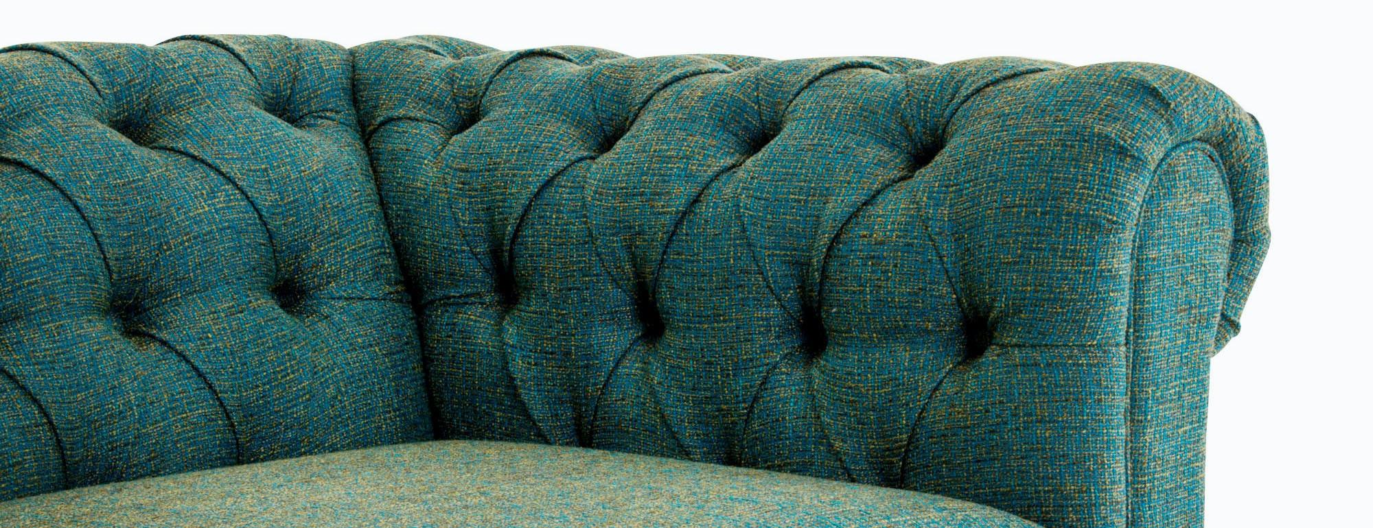 shown in Cordova Turquoise Fabric