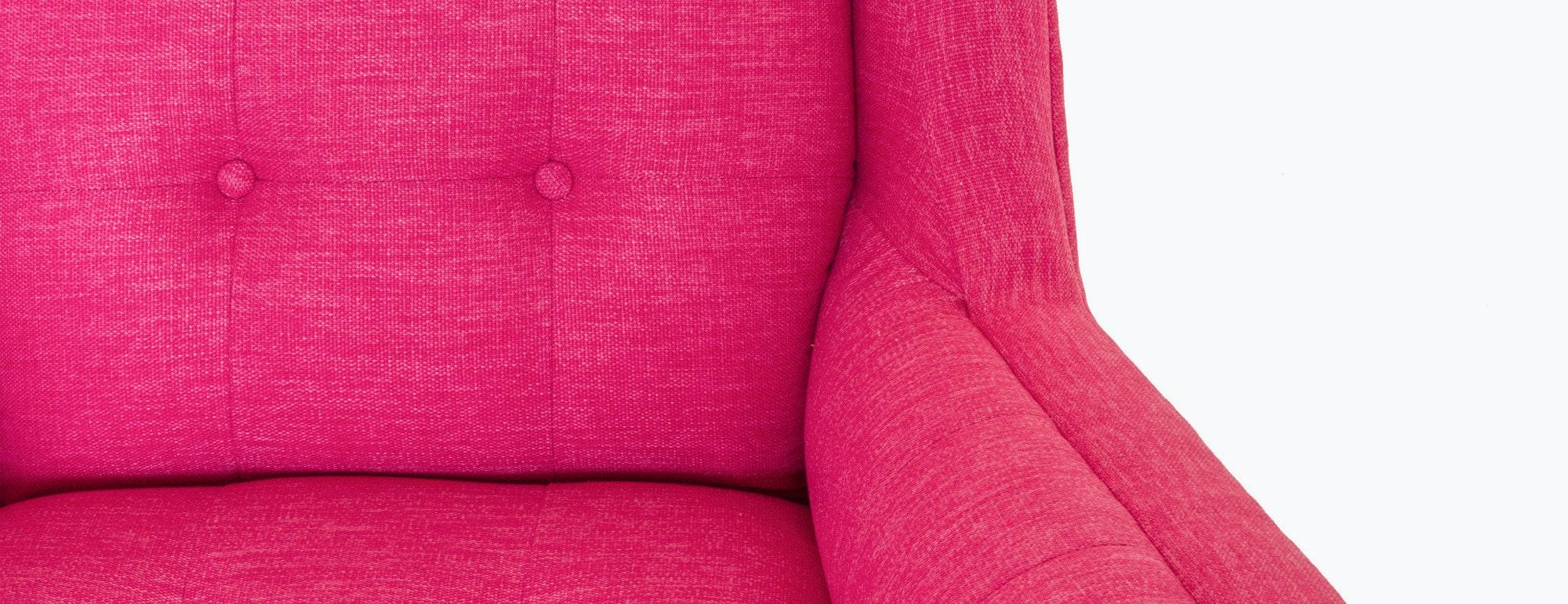 shown in Key Largo Bubblegum Fabric
