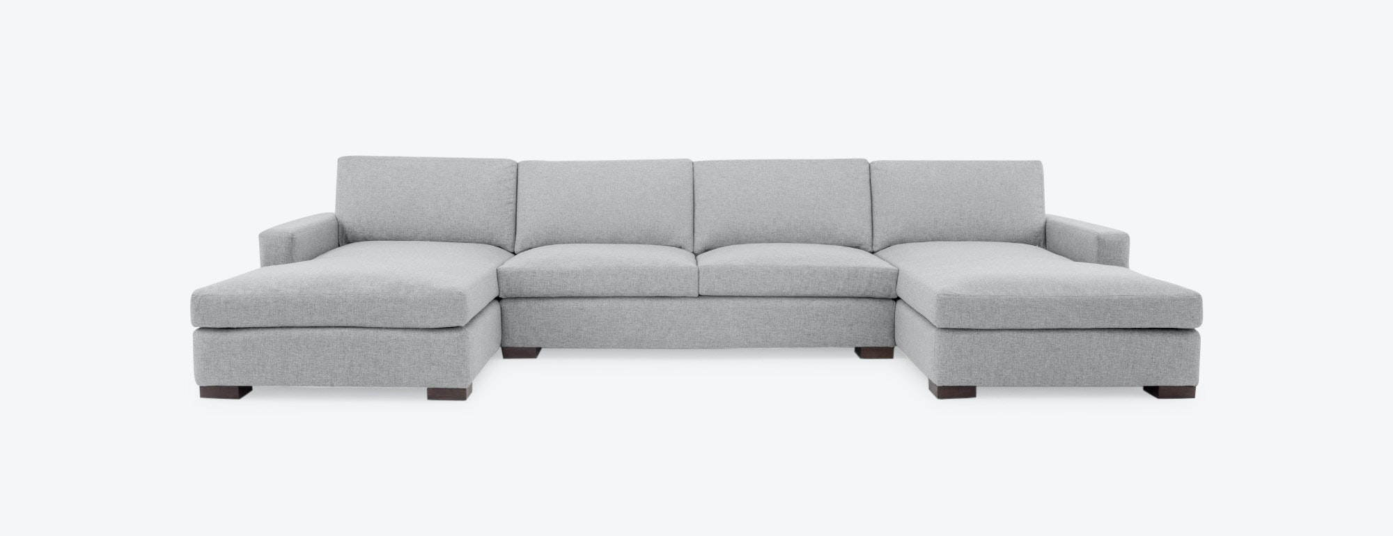 Anton U Chaise Sectional Joybird ~ One Arm Sofa With Chaise
