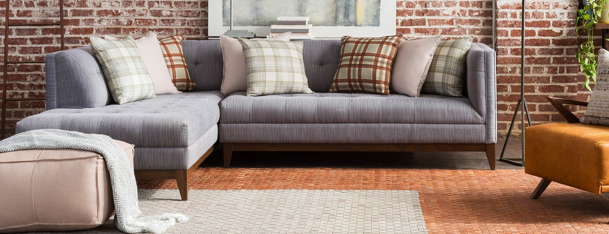 shown in Bentley Pewter Fabric