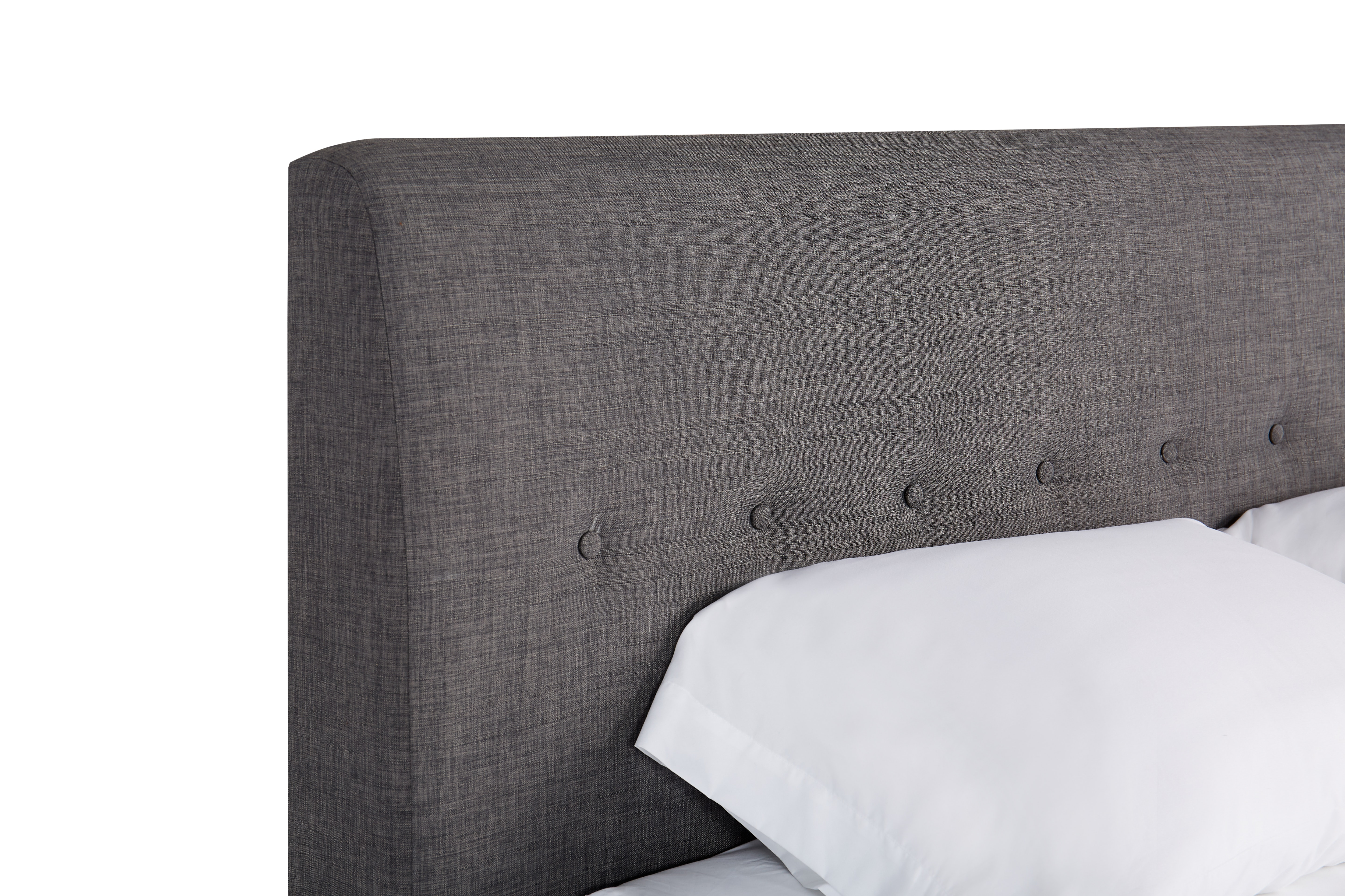 shown in Bennett Charcoal Fabric