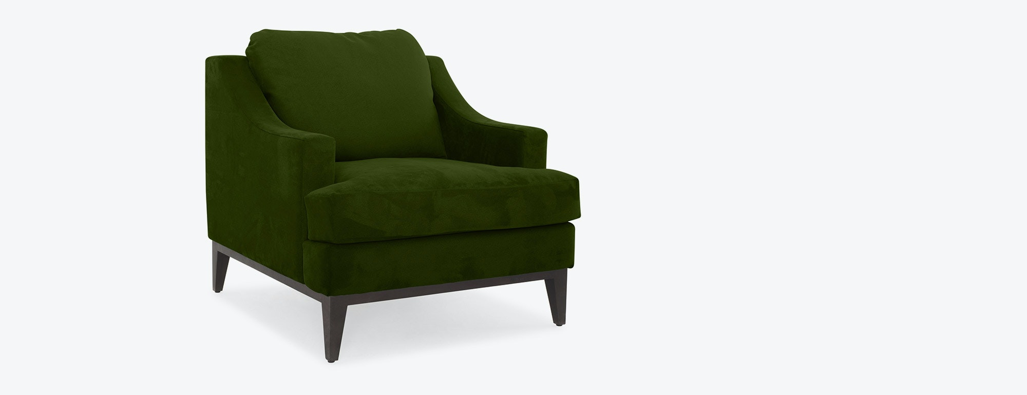 shown in Como Velvet  Jade Fabric