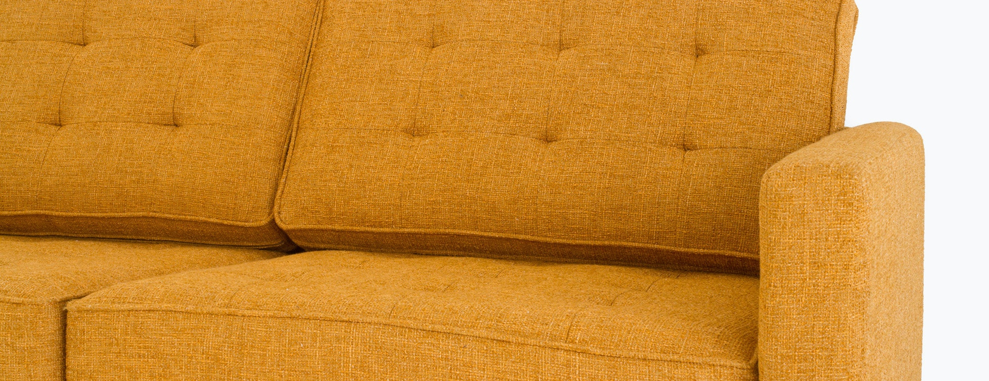 shown in Cordova Amber Fabric