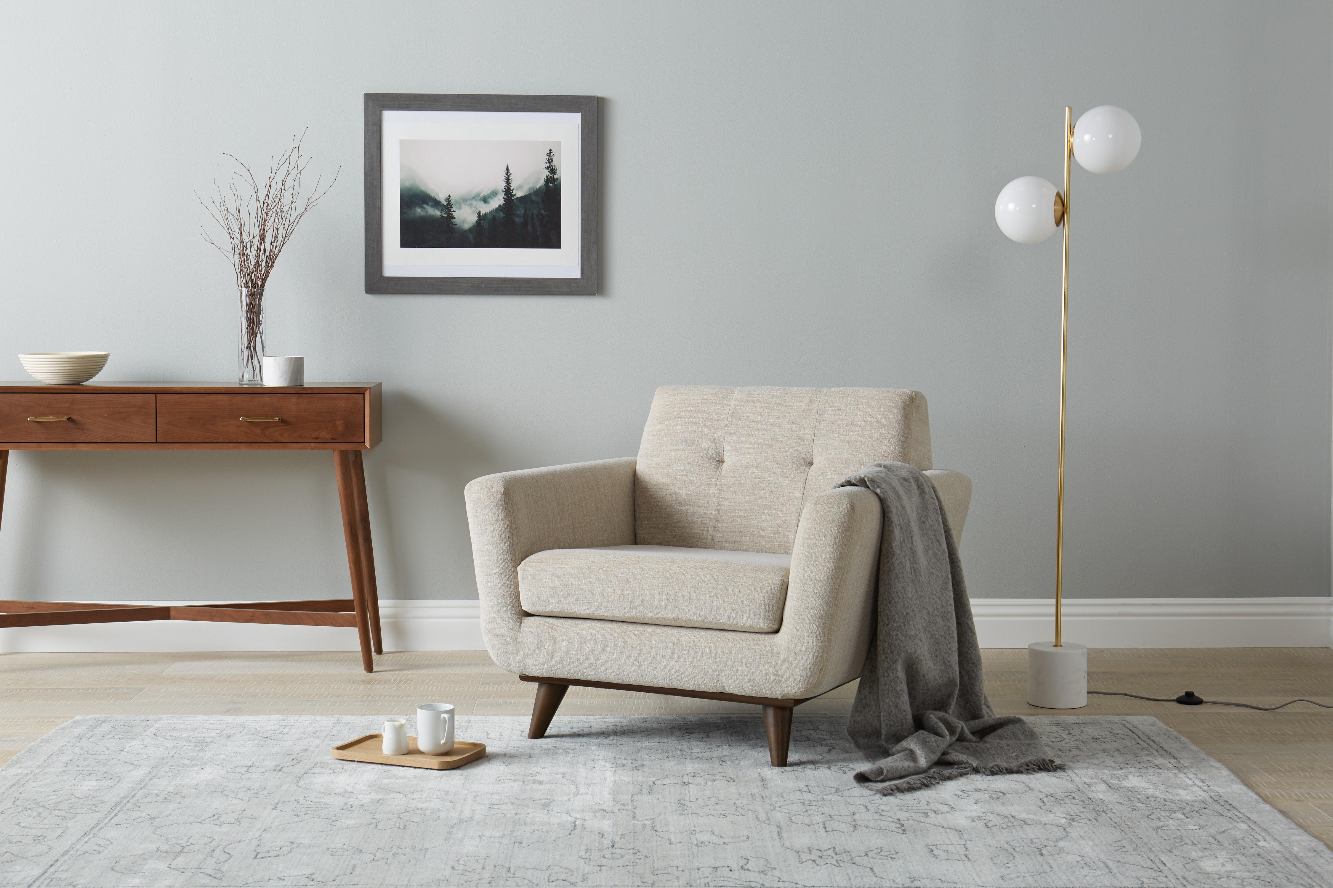 Astonishing Furniture Mid Century Modern Upholstered Soild Wooden Accent Ibusinesslaw Wood Chair Design Ideas Ibusinesslaworg