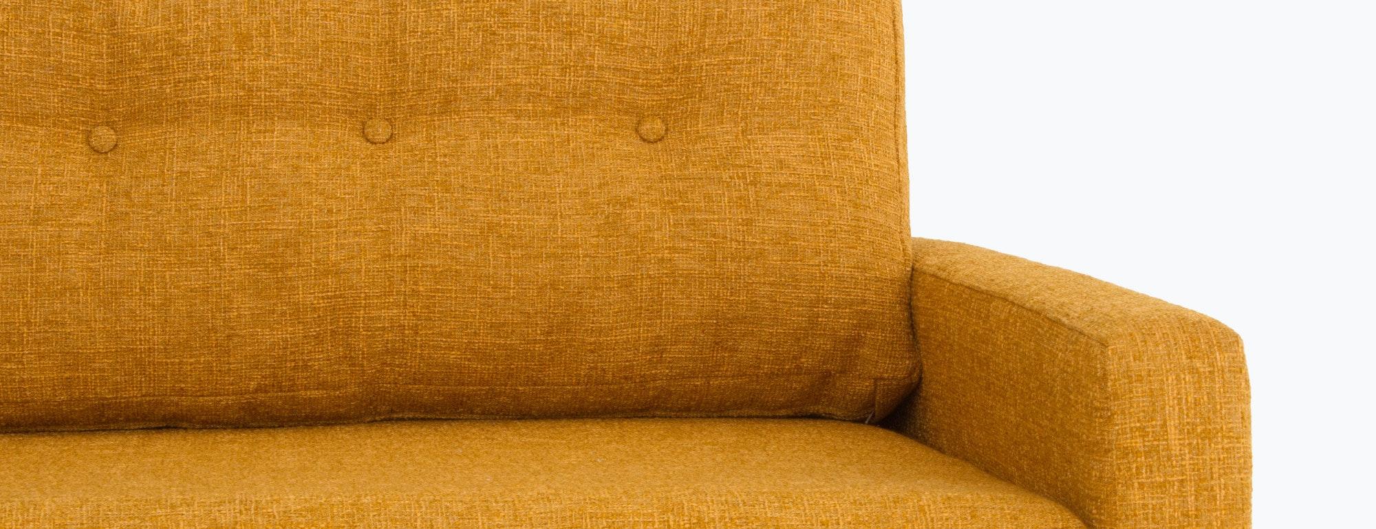 shown in Cordova Amber Fabric