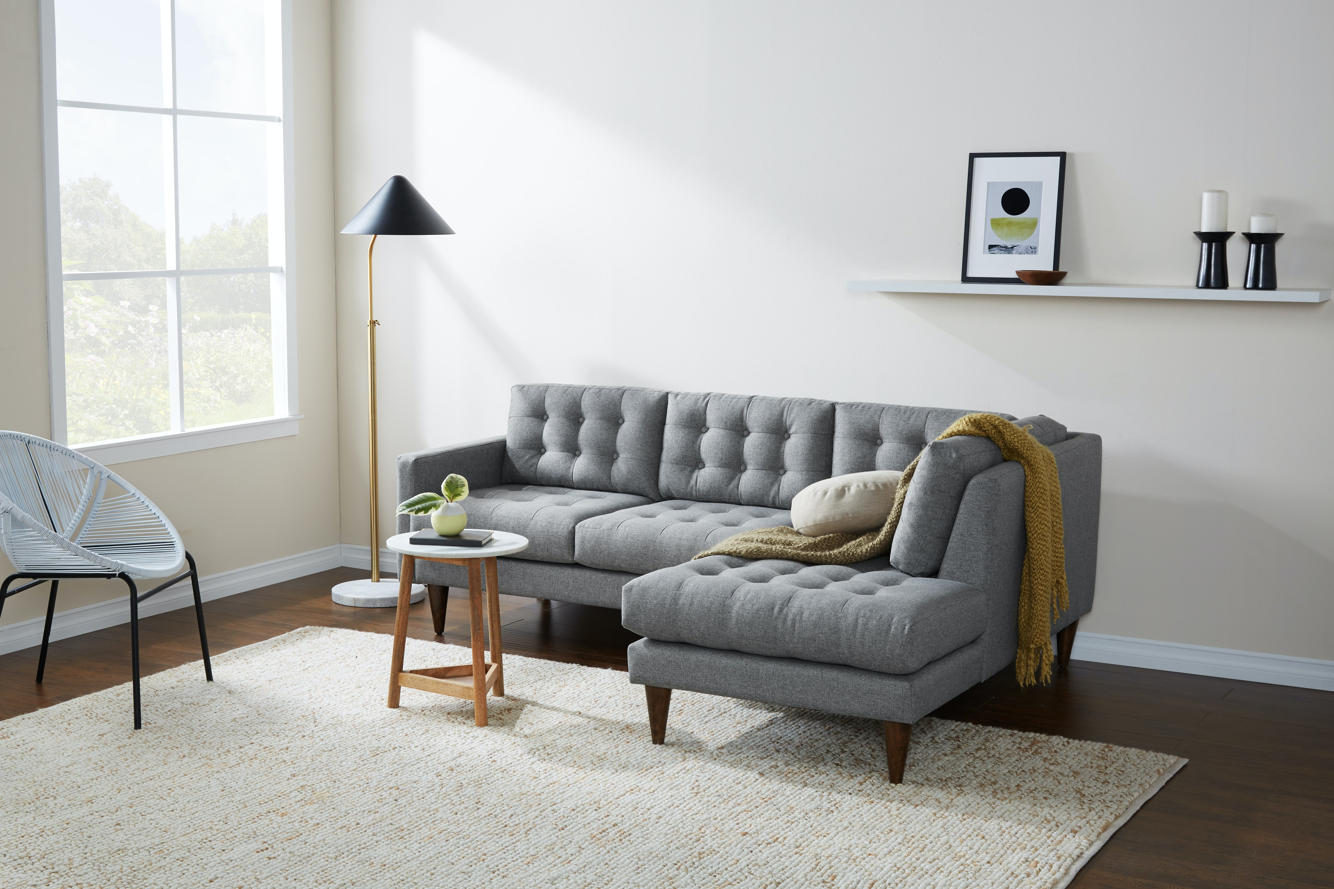 Eliot Apartment Sectional With Per