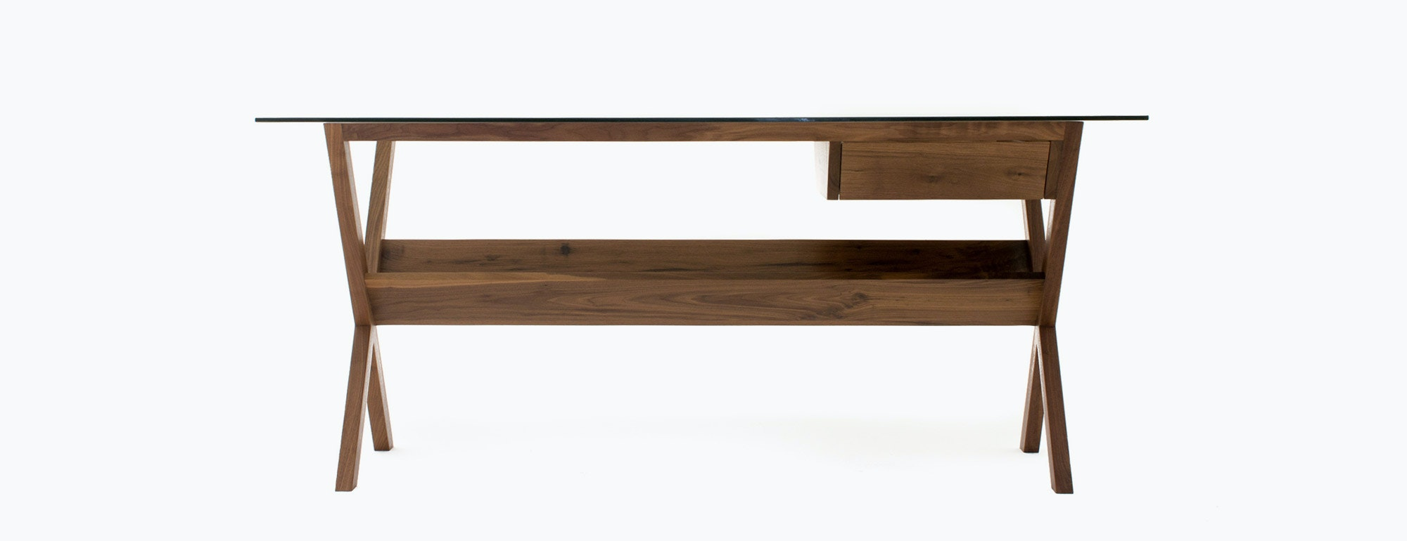 shown in Walnut Wood