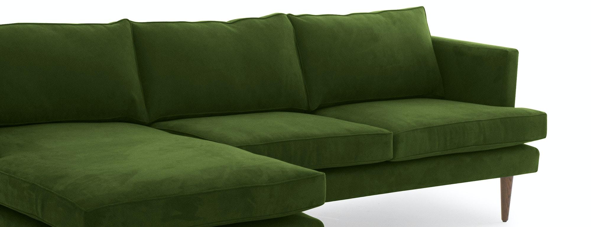 shown in Como Velvet  Jade Fabric
