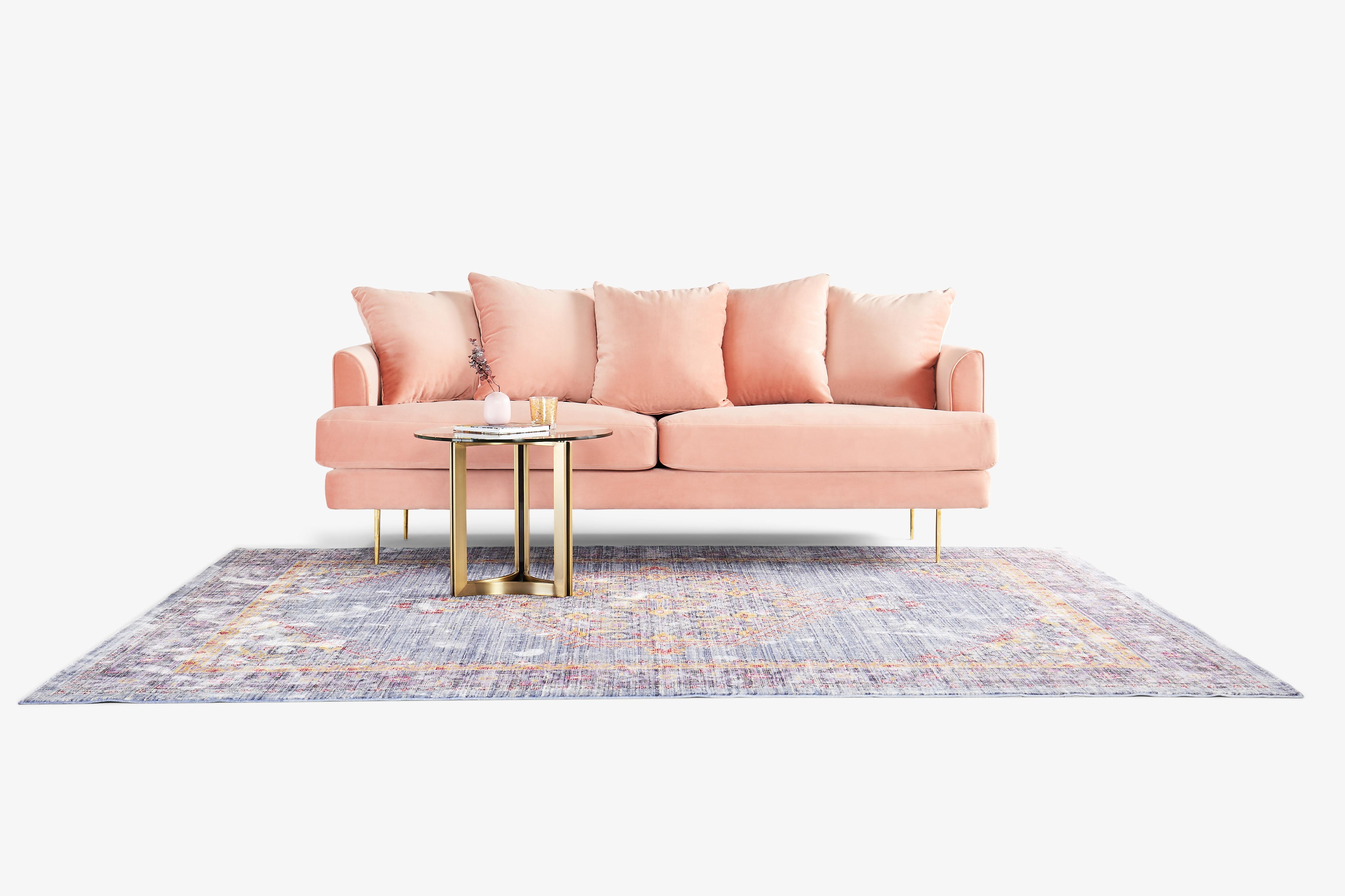 Aime Sofa Royal Blush