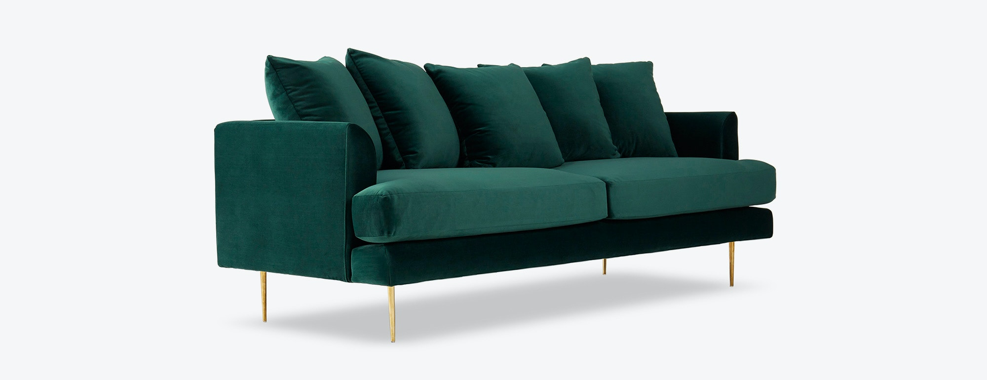 shown in Royale Evergreen Fabric