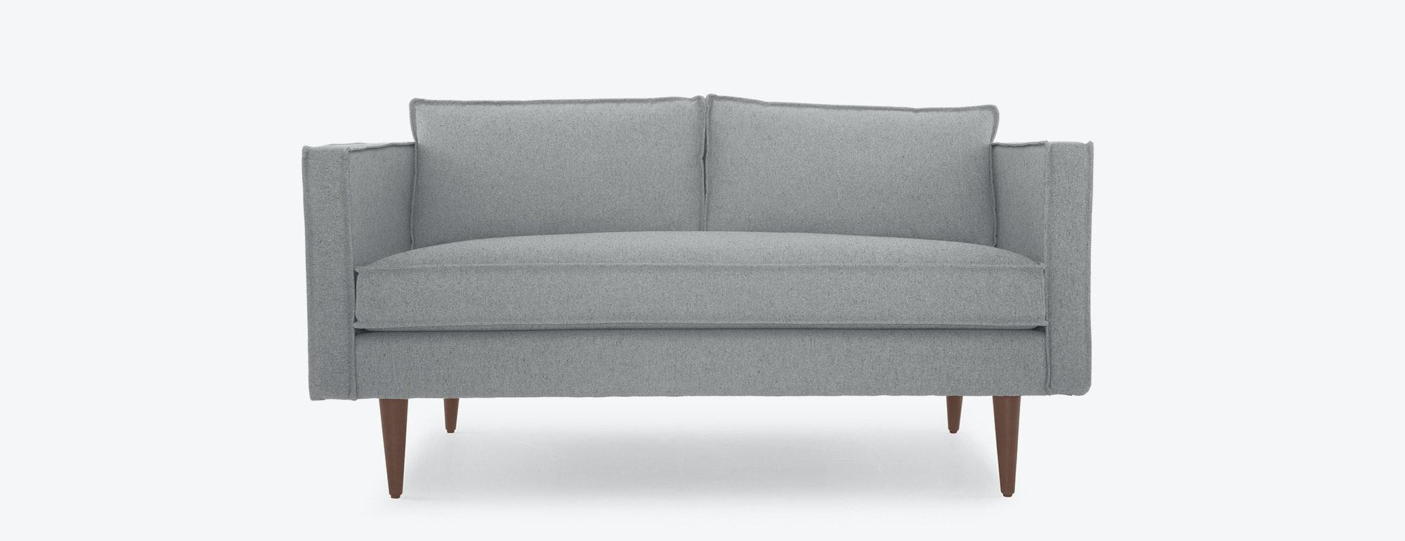 shown in Bella Dove Fabric