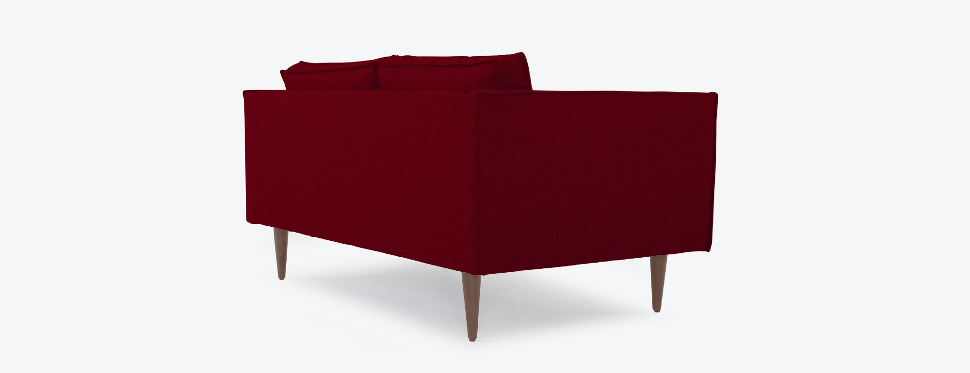 shown in Bella Merlot Fabric