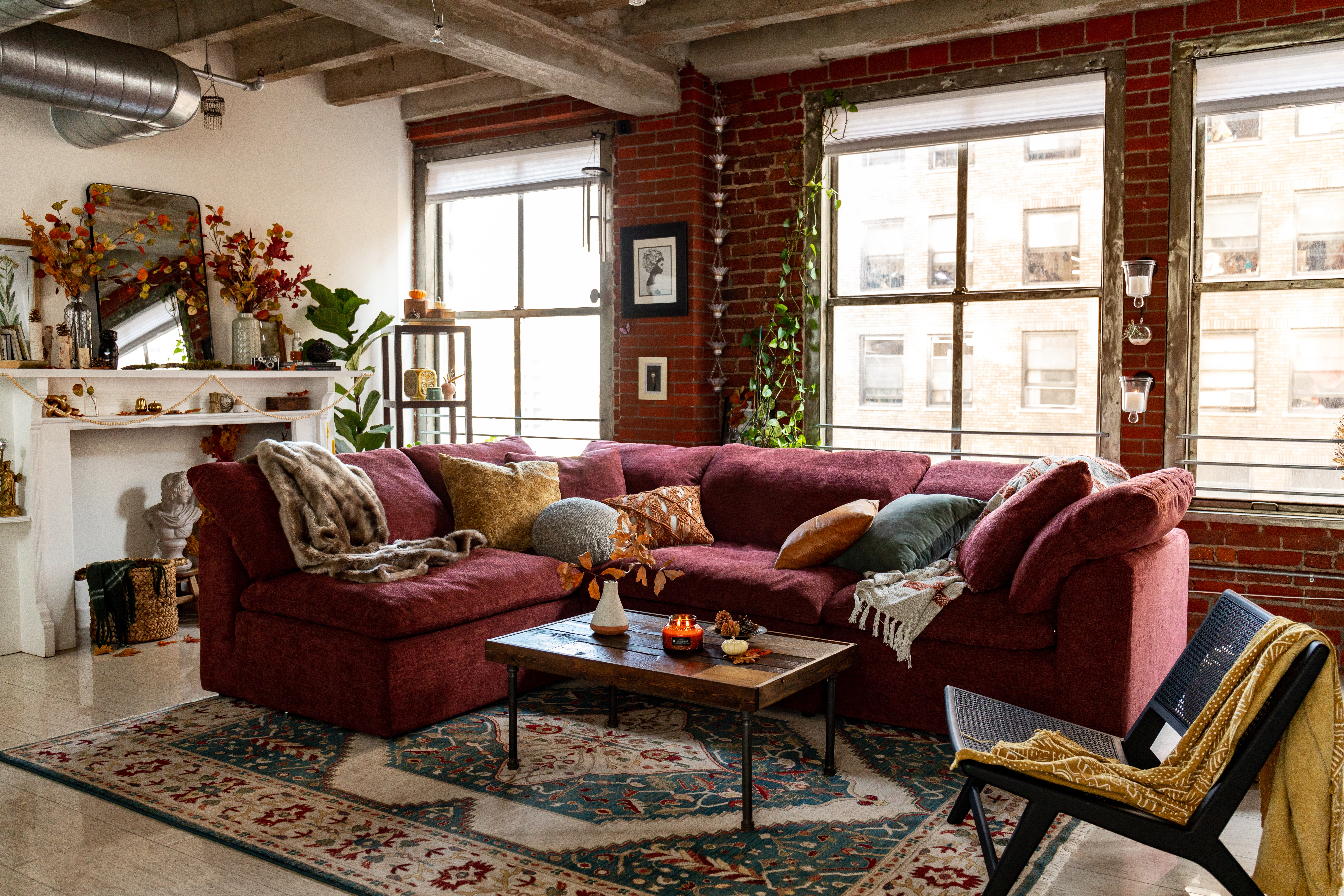 Admirable Bryant L Sectional 4 Piece Bralicious Painted Fabric Chair Ideas Braliciousco
