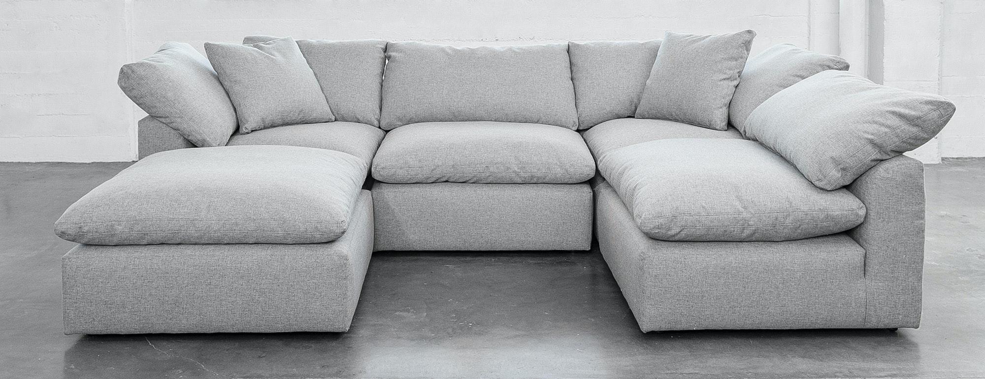 bryant u sofa bumper sectional joybird. Black Bedroom Furniture Sets. Home Design Ideas