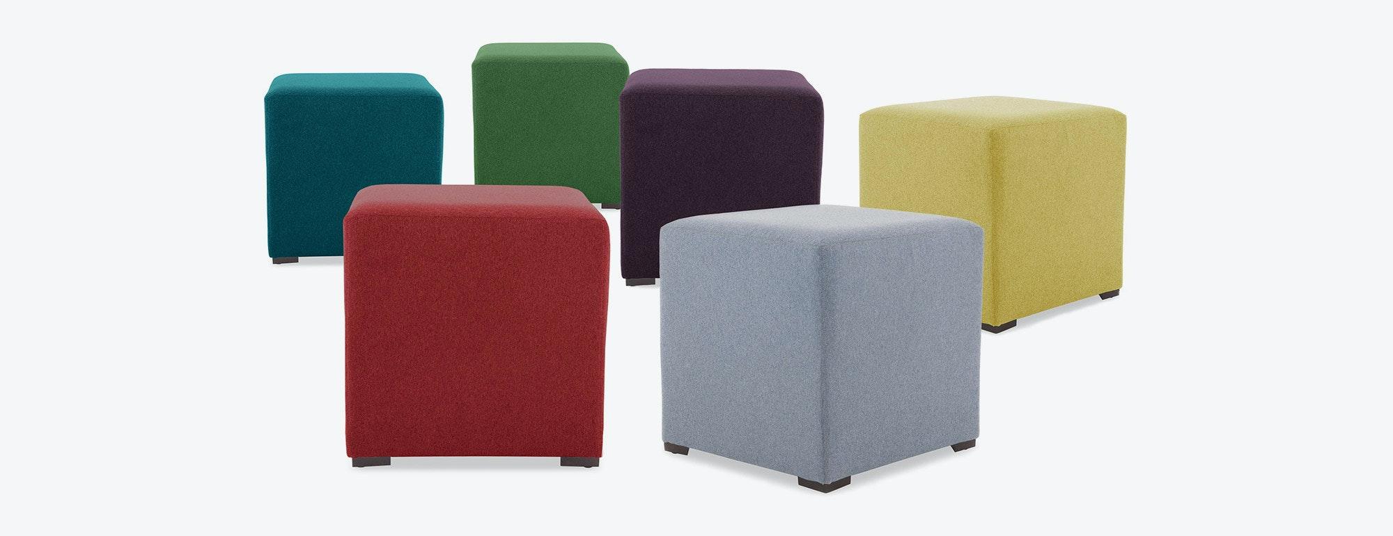 cort cube ottoman  joybird - product image