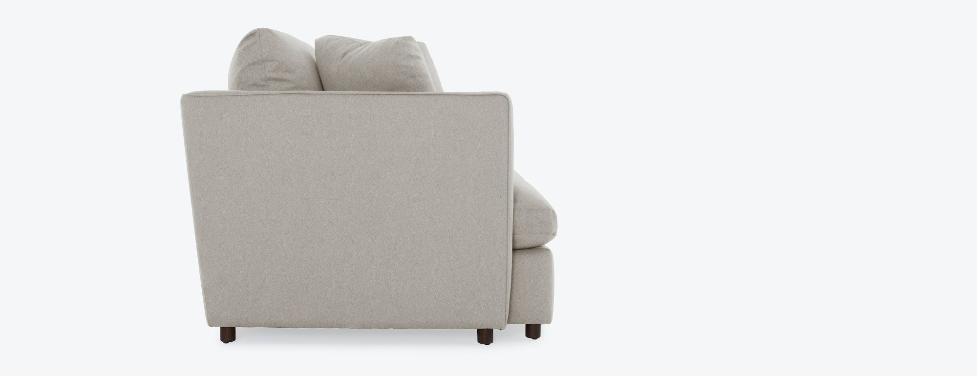 Chair and a half - Shown In Dawson Sand Fabric