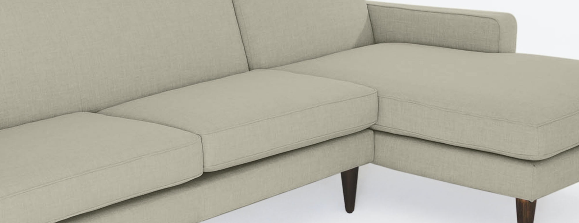 shown in Dawson Sand Fabric