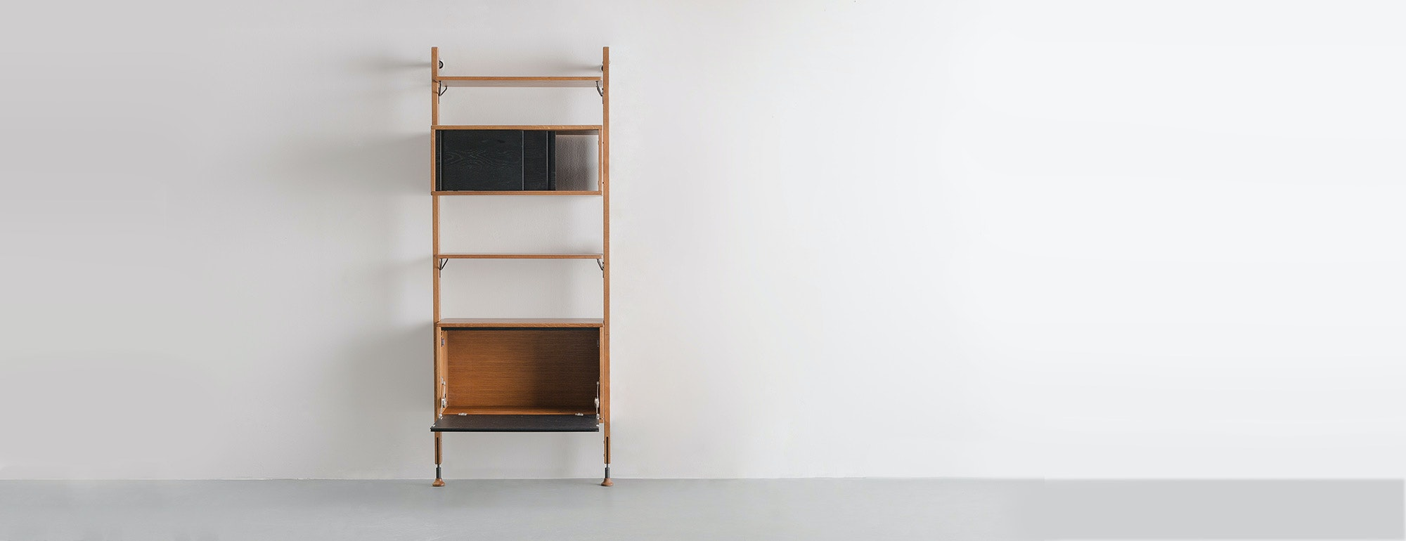 ... Dexter Modular Shelf With Cabinet