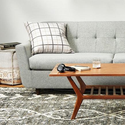 Hughes Sleeper Sofa Taylor Felt Grey
