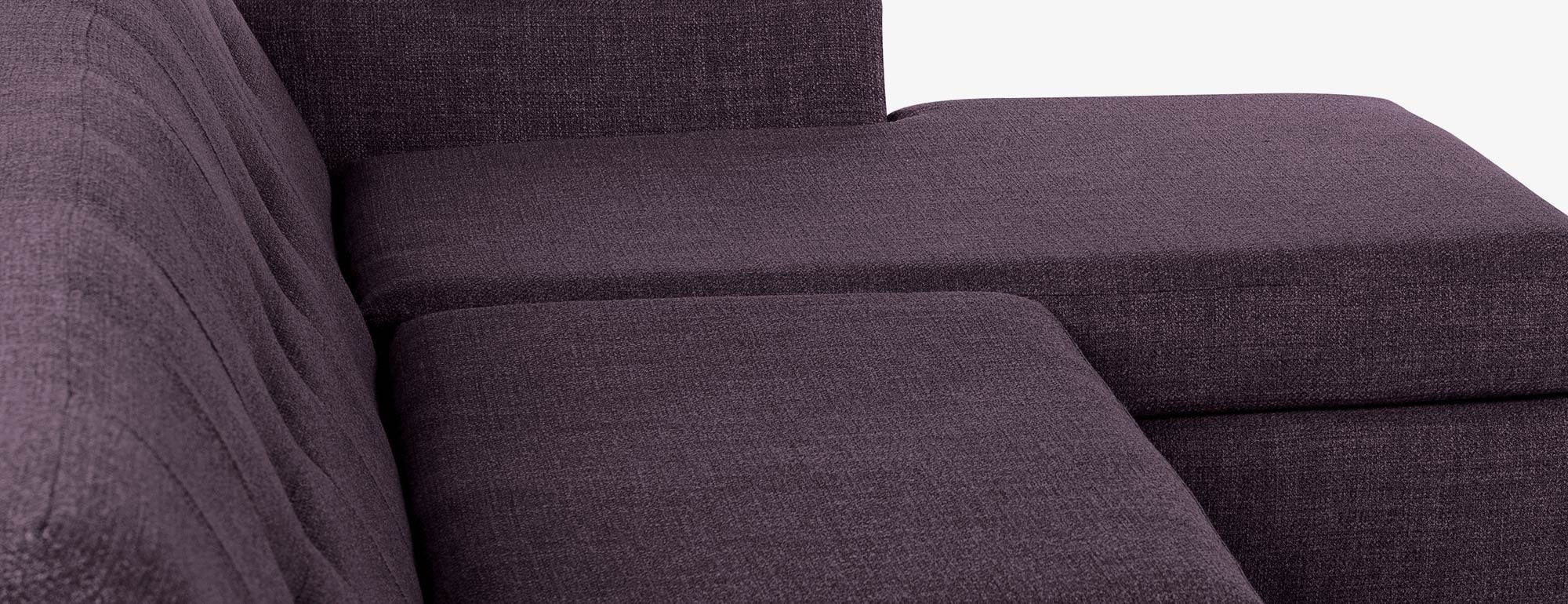 shown in Key Largo Grape Fabric