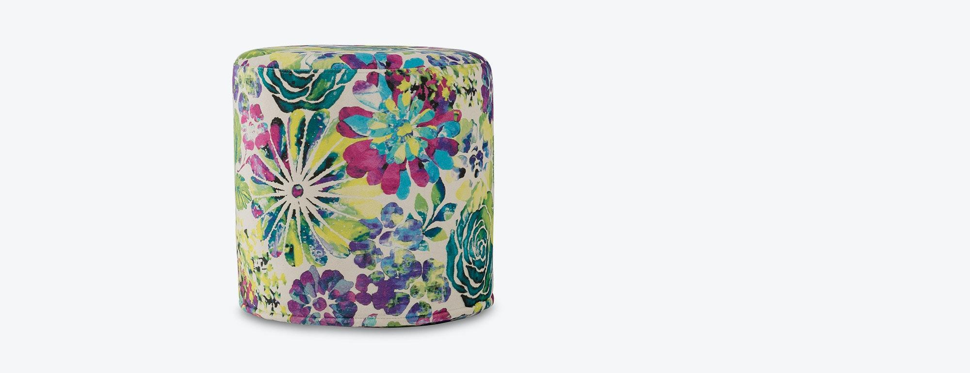 shown in Porto Floral Underwater Linen Fabric