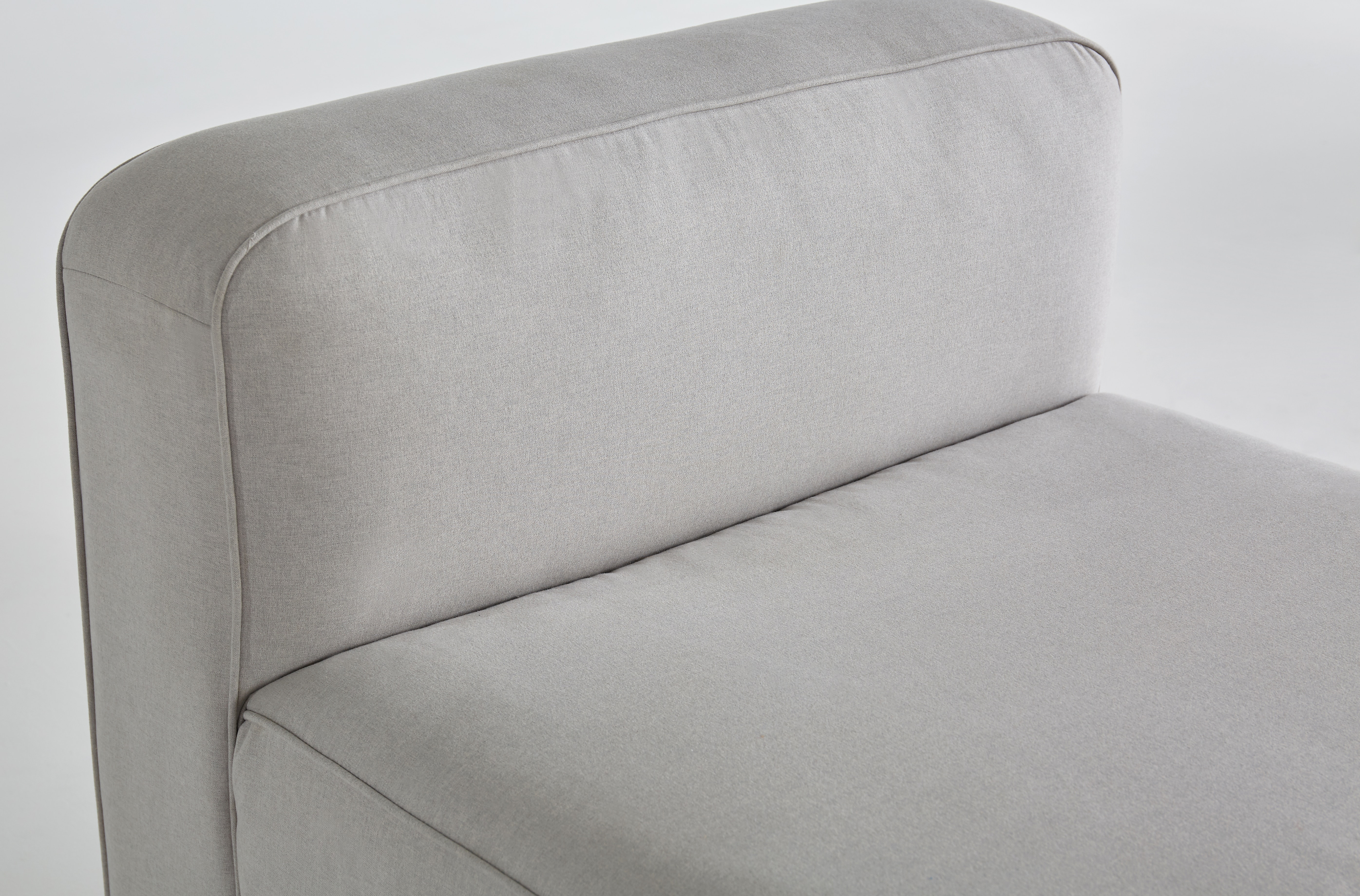 shown in Devon Platinum Fabric