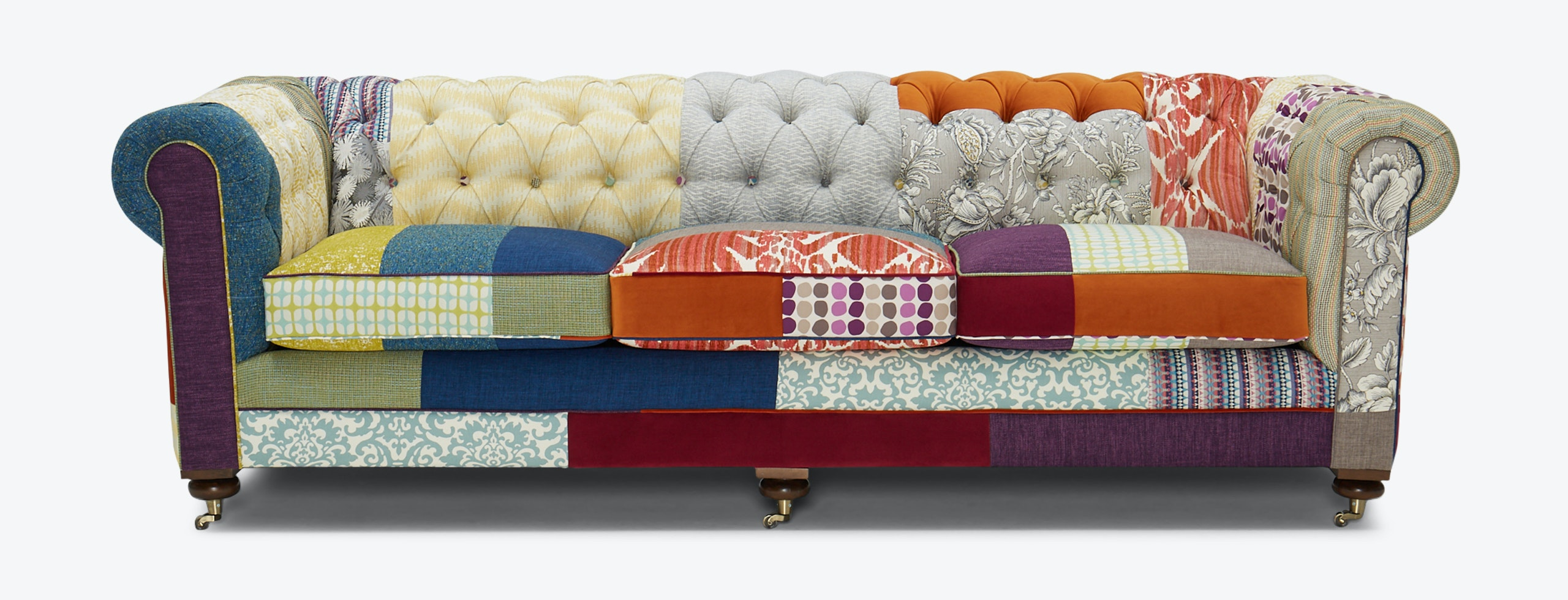 Liam Patchwork Sofa Brooklyn Edition Joybird